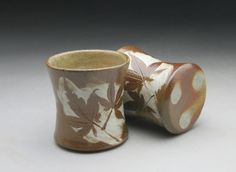 Wood fired Whiskey Cups - Michèle Hastings