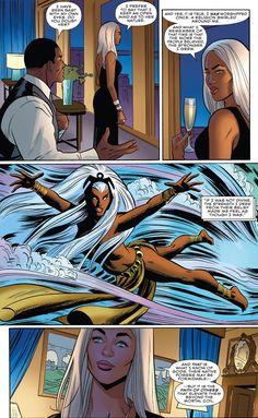 Storm Xmen, Storm Marvel, Marvel Dc Comics, Marvel Heroes, Marvel Women, Ororo Munroe, Comic Art, Comic Books, Cosmic Comics