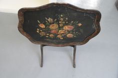 Antique - Tilt Top Table - Duncan Phyfe Style - Hand Painted