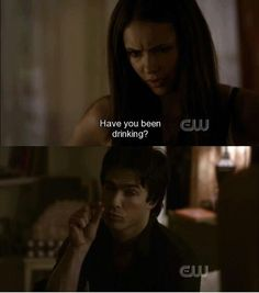 Damon Salvatore and Elena Gilbert | The Vampire Diaries
