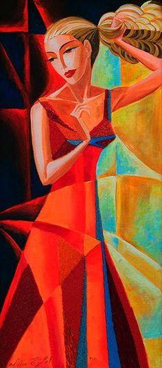 Cubism at Sunset  Alina Eydel