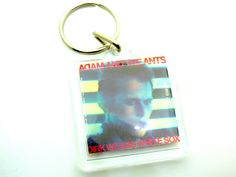 Vintage 80s Adam Ant - Adam and the Ants - Dirk Wears White Sox (1983 U.S.A. Album Release) Keychain by beatbopboom on Etsy