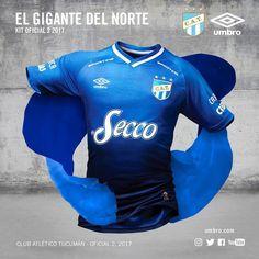Camisas do Club Atlético Tucumán 2017-2018 Umbro c7d588e944b2d