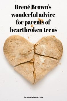 Parenting teens advice for raising teenagers - Brené Brown's wonderful advice for parents of heartbroken teens - Between Us Parents Parenting Books, Parenting Teens, Good Parenting, Parenting Quotes, Parenting Classes, Age Appropriate Chores, Back To School Organization, Toddler Behavior, Toddler Chores