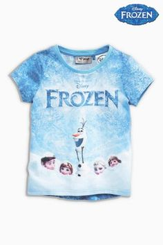 Buy Blue Disney™ Frozen T-Shirt (3mths-6yrs) online today at Next: United States of America