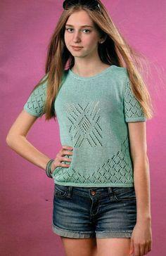 Вязание модно и просто - №11 - 2015
