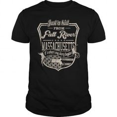 I Love Fall River  Massachusetts TTJK1 T-Shirts