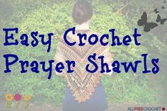 If you're looking for a special project to make for a friend in need, then now is the time to discover an easy crochet prayer shawl. Prayer shawl crochet patterns are the greatest gift you can give someone who is having a tough time. Prayer Shawl Crochet Pattern, Prayer Shawl Patterns, Crochet Prayer Shawls, Crochet Shawls And Wraps, Knit Shawls, Crochet Scarf Easy, Free Crochet, Crochet Hats, Irish Crochet