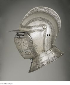 Title: bourgonet3              Tags: Helmet              Date: ca. 1550                        Artist: Unknown              Provenance: Germany              Collection: The Wallace Collection