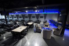 Our Hookah lounge is HUGE!  Come to Lux Lounge in West Bloomfield, MI to relax with friends at a premiere hookah lounge in an upscale atmosphere!  Call (248) 661-1300 for more information!