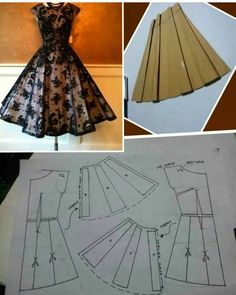 Diy Ropa Mujer Fashion Ideas Ideas For 2019 Sewing Art Sewing Tools Sewing Tutorials Sewing Hacks Sewing Patterns Sewing Projects Sewing Techniques Techniques Couture Learn To Sew Dress pattern cut out Great swing dress DIY - would add a curve to the bodi Sewing Clothes Women, Barbie Clothes, Diy Clothes, Clothes For Women, Dress Clothes, Sewing Dress, Dress Sewing Patterns, Clothing Patterns, Clothing Ideas