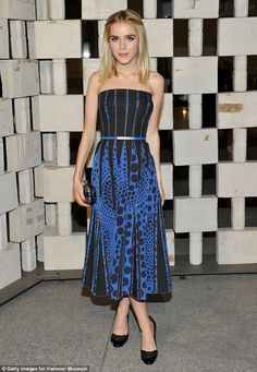 Kiernan Shipka attended the 13th Annual Gala in the Garden at the Hammer Museum in Los Angeles on October 10, 2015