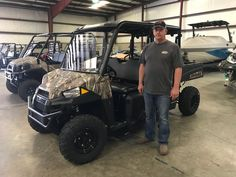 Congratulations to The Pitts family from Waynesboro, MS for purchasing a 2018 Polaris Ranger 570 Crew from Hattiesburg Cycles. #polaris