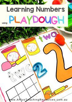 Try these playdough mats for teaching number recognition in kindergarten. Kindergarten Library, Numbers Kindergarten, Teaching Numbers, Kindergarten Classroom, Kindergarten Activities, Classroom Activities, Fine Motor Activities For Kids, Math For Kids, Sensory Activities