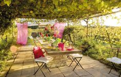 Outdoor Furniture Sets, Outdoor Decor, Table Decorations, Afin, Home Decor, Belle, Photos, Stylish Bedroom, Top Restaurants