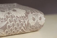 Linuschka Owls Café Crème Wrap (silk, merino, cashmere)