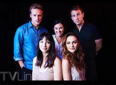 NEW TV Line SDCC Portrait of The Cast of Outlander   Outlander Online
