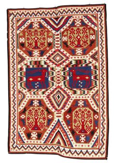 text-mode:  Bedcover from 1219 (Sweden), via.