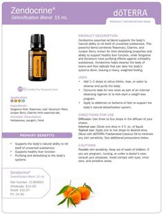 Zendocrine Essential Oil Uses