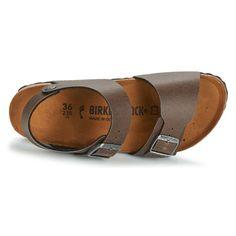 Shoes Gyerek Szandálok / Saruk Birkenstock NEW YORK Barna