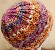 Cable Hat - Honeysuckle pattern from Interweave Crochet