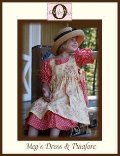Meg's dress and pinafore
