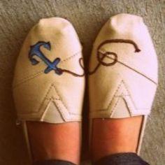cute DIY Toms shoes