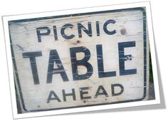 Driving up north with grandma and looking for a roadside picnic table. ~•✿.•:*¨¨*:•.✿•~