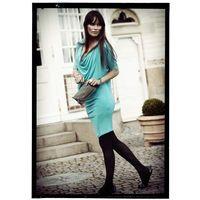 Noelle dress- Capri blue