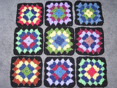 Traditional Granny Square - C