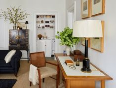 living room in gramercy park home
