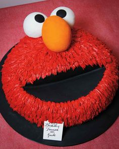 Elmo Cake Perfect For A 1 2 And 3 Birthday Party Kids Will
