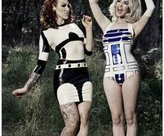 Pin-Up du Jour - Star Wars Droids are Sexy #stormtroopers #R2D2