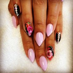 Pink and Gems and Flowers OH MY!
