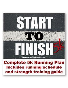 "Tone and Tighten's ""Start To Finish 5k"" Running Program | Scribd"