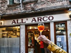 All'Arco, a typical ciccheti bar in Venice, Italy