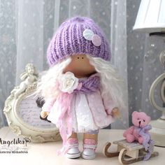#вналичии #продамкуклу #текстильнаякукла #кукла