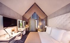 Philippe Starck Presents Interior of M Social Design Hotel Singapore | See more articles at http://www.delightfull.eu/en/news/