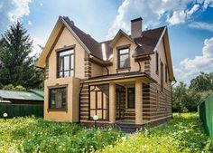 Дом с интерьерами в стиле современной классики и элементами ар деко   Архитектурные проекты   Журнал «Красивые дома»