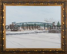 Framed oil on canvas Ken Blaze $200