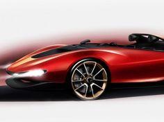 Pininfarina Sergio Concept: Sketch Preview