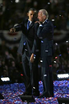 President Barack Obama and Vice President, Joe Biden