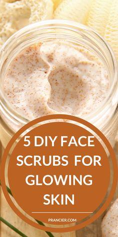 Sugar Scrub For Face, Sugar Scrub Homemade, Homemade Skin Care, Homemade Beauty Products, Diy Skin Care, Homemade Acne Face Mask, Homemade Scrub For Face, Homemade Sugar Scrubs, Diy Acne Face Mask