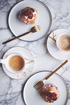 Den ultimative fastelavnsbolle – Emily Salomon Panna Cotta, Ethnic Recipes, Food, Kitchen, Dulce De Leche, Cooking, Eten, Kitchens, Meals