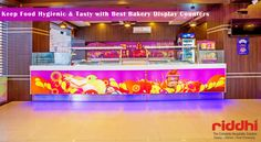 Keep Food Hygienic & Tasty with Best Bakery Display Counters! ....Groom Your Food Business with Bakery Counters