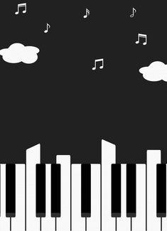 Drawing Piano, Piano Art, Piano Sheet Music, Music Notes Art, Music Wall Art, Music Artwork, Live Wallpaper Iphone, Music Wallpaper, Music Illustration