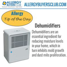 Why should you use a dehumidifier? Check out our Dehumidifier Allergy Tip. To learn more visit our blog http://www.allergyconsumerreview.com/dehumidifer-review.html