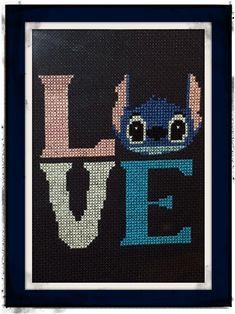 LOVE Lilo and Stitch Cross Stitch DIGITAL by CrossingCuriosity