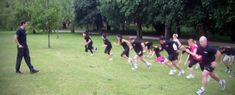 10 Boot Camp Workout Ideas and fun bootcamp games for outdoor group fitness trainers. Build your next workout around these fun boot camp Workout Ideas Circuit Training Workouts, Tabata Workouts, Group Workouts, Bootcamp Games, Bootcamp Ideas, Workout Ideas, Fun Warm Up Games, Dynamic Warm Up, Group Fitness Classes