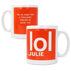 LOL Slogan Mug | Mugs & Teacups | Exclusively Personal